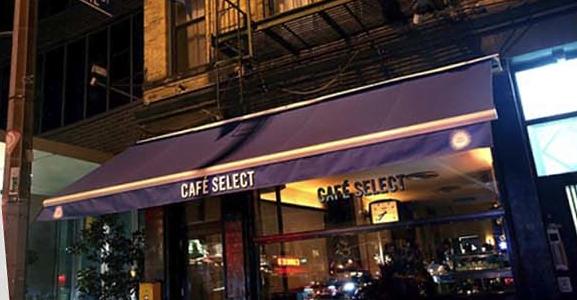 Café Select Restaurant Façade