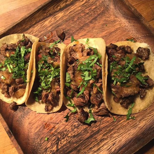La Esquina Restaurant Steak Tacos