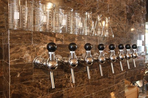 Dining St Anselm Restaurant Beer Taps