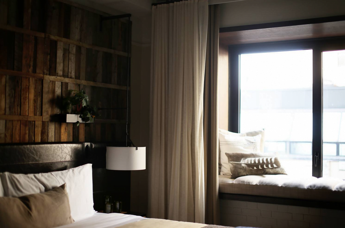 1 Hotels Boutique Bedroom Windows