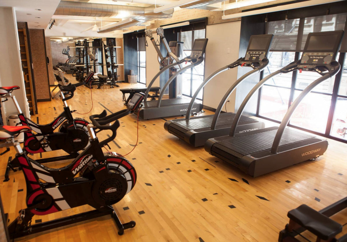 1 Hotel Boutique Fitness Center