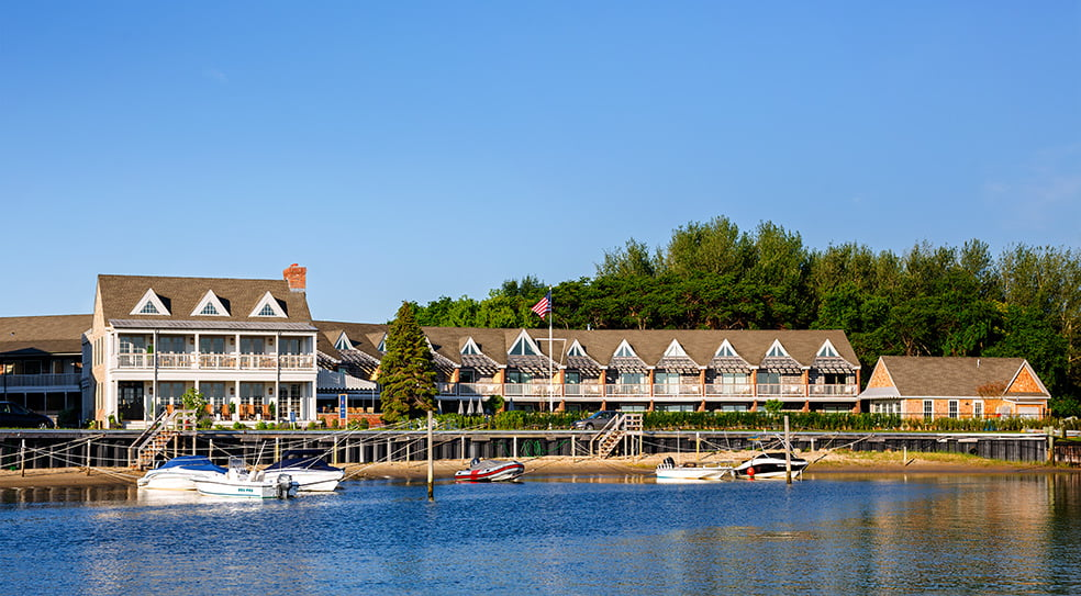 Barons Cove Hotel Sag Harbor Distant View