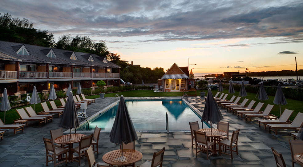 Barons Cove Hotel Sag Harbor Pool