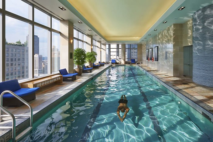 Mandarim Oriental Hotel Spa Wellness Pool