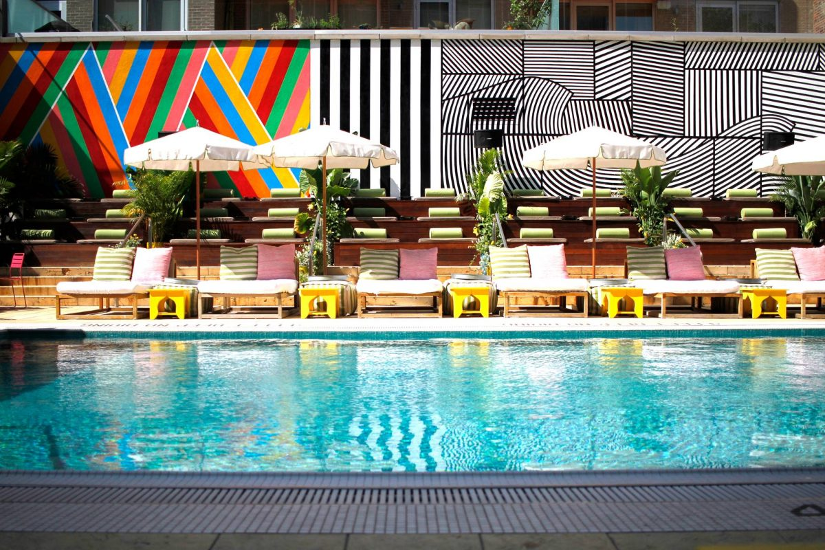 McCarren Hotel Williamsburg Pool