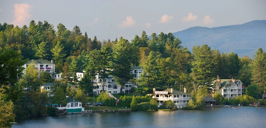 Mirror Lake Inn Lake Placid View