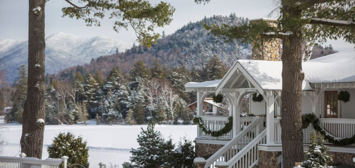 Mirror Lake Inn Lake Placid Winter