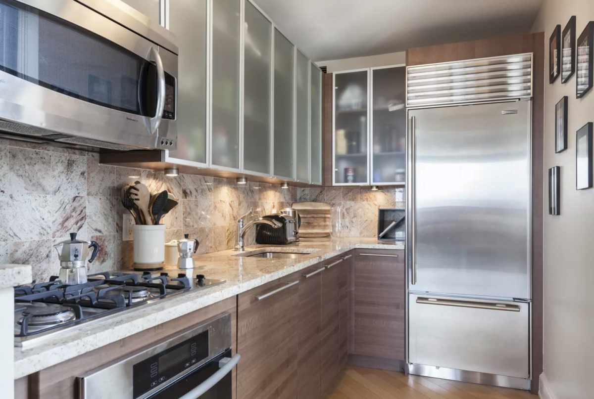 One Fine Stay Rentals Metal Kitchen