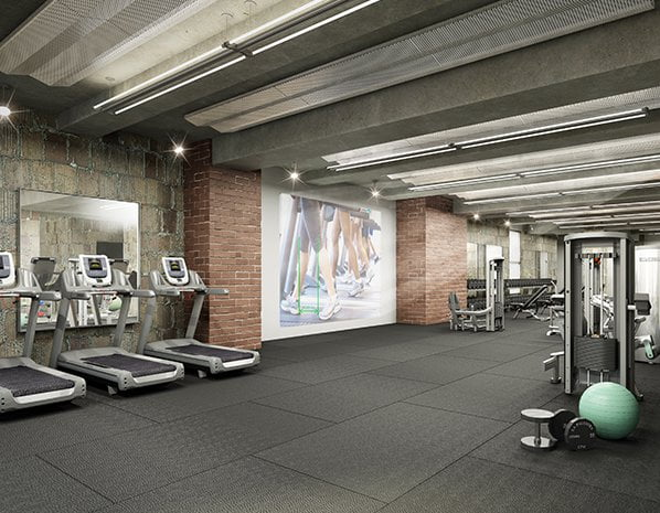 Q&A Residential Hotel Fitness Center Tredmil