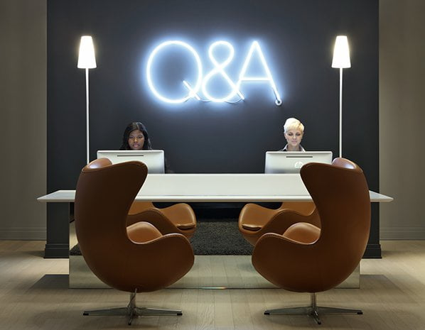 Q&A Residential Hotel Reception