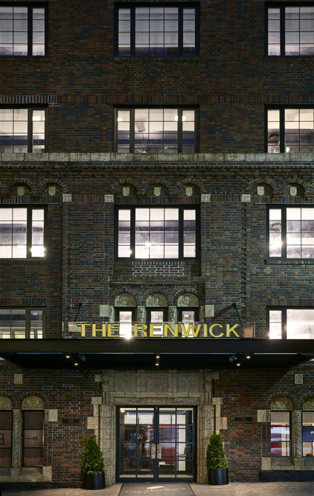 Renwick Hotel Boutique Entrance