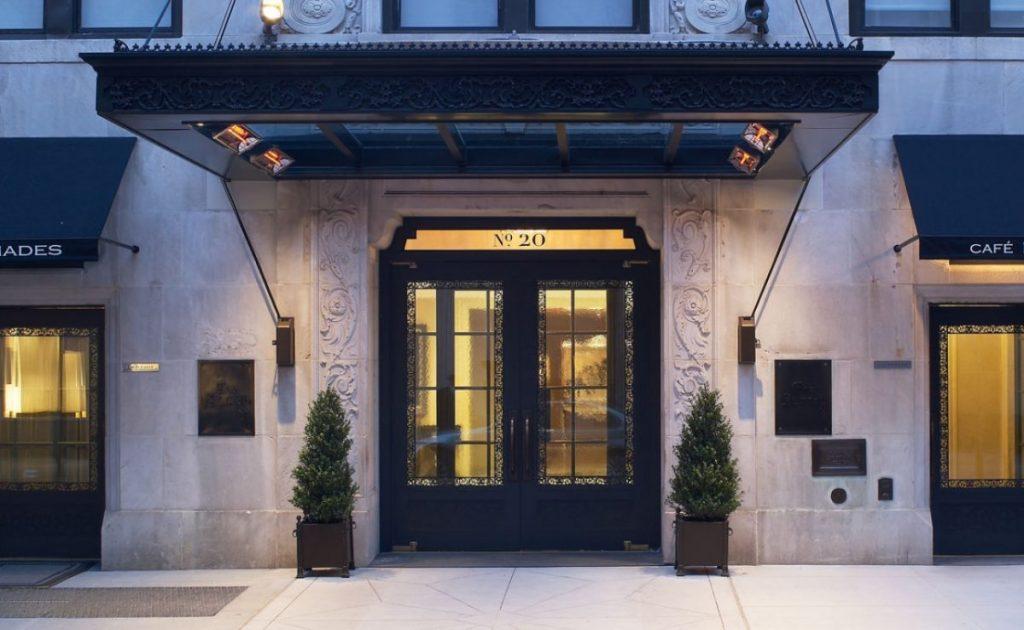 The Surrey Hotel Entrance