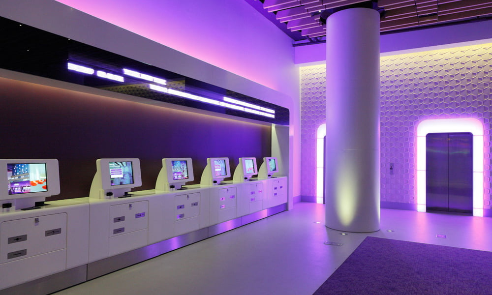 Yotel Hotel Reception