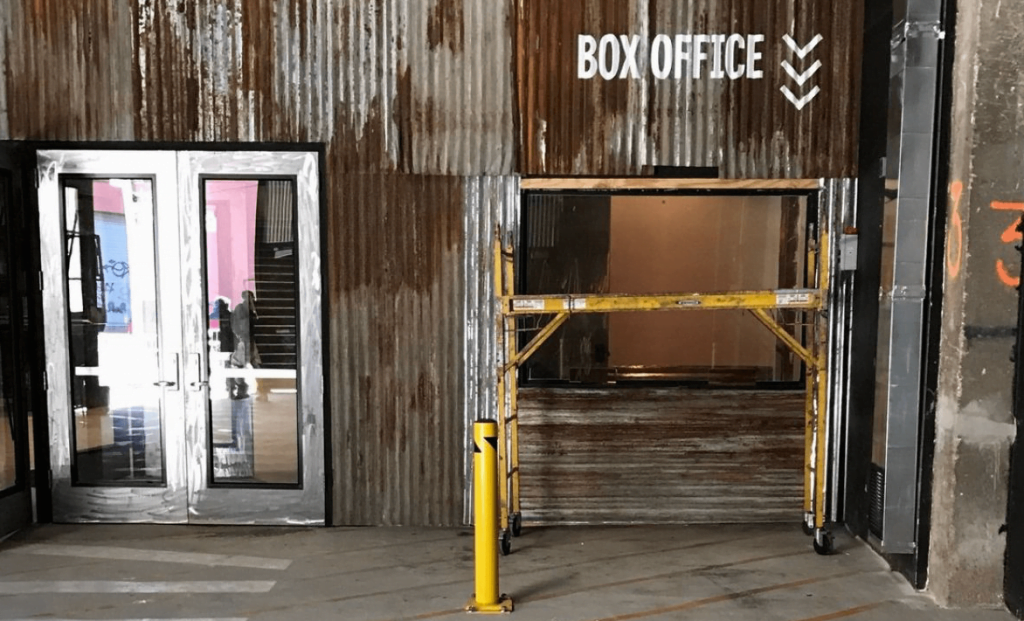 Culture Music Brooklyn Steel Entrance Box Office