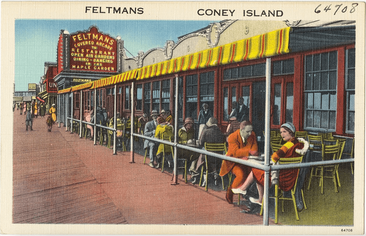 Culture Music Feltman's Coney Island hot dog Old Picture