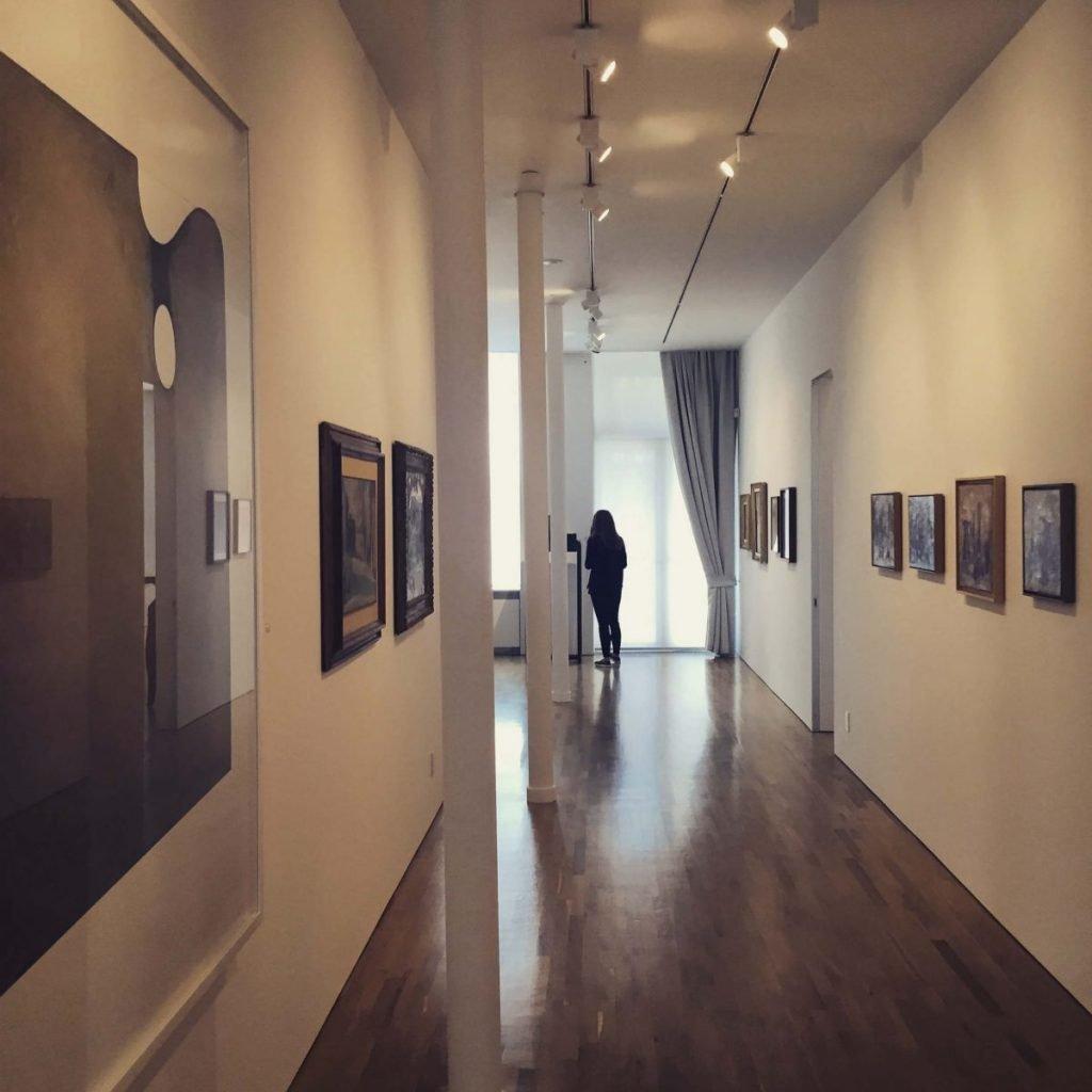 Culture & Music Giorgio Morandi Exhibition Corridor