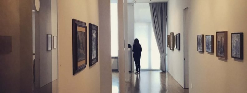 Culture & Music Giorgio Morandi Exhibition Corridor