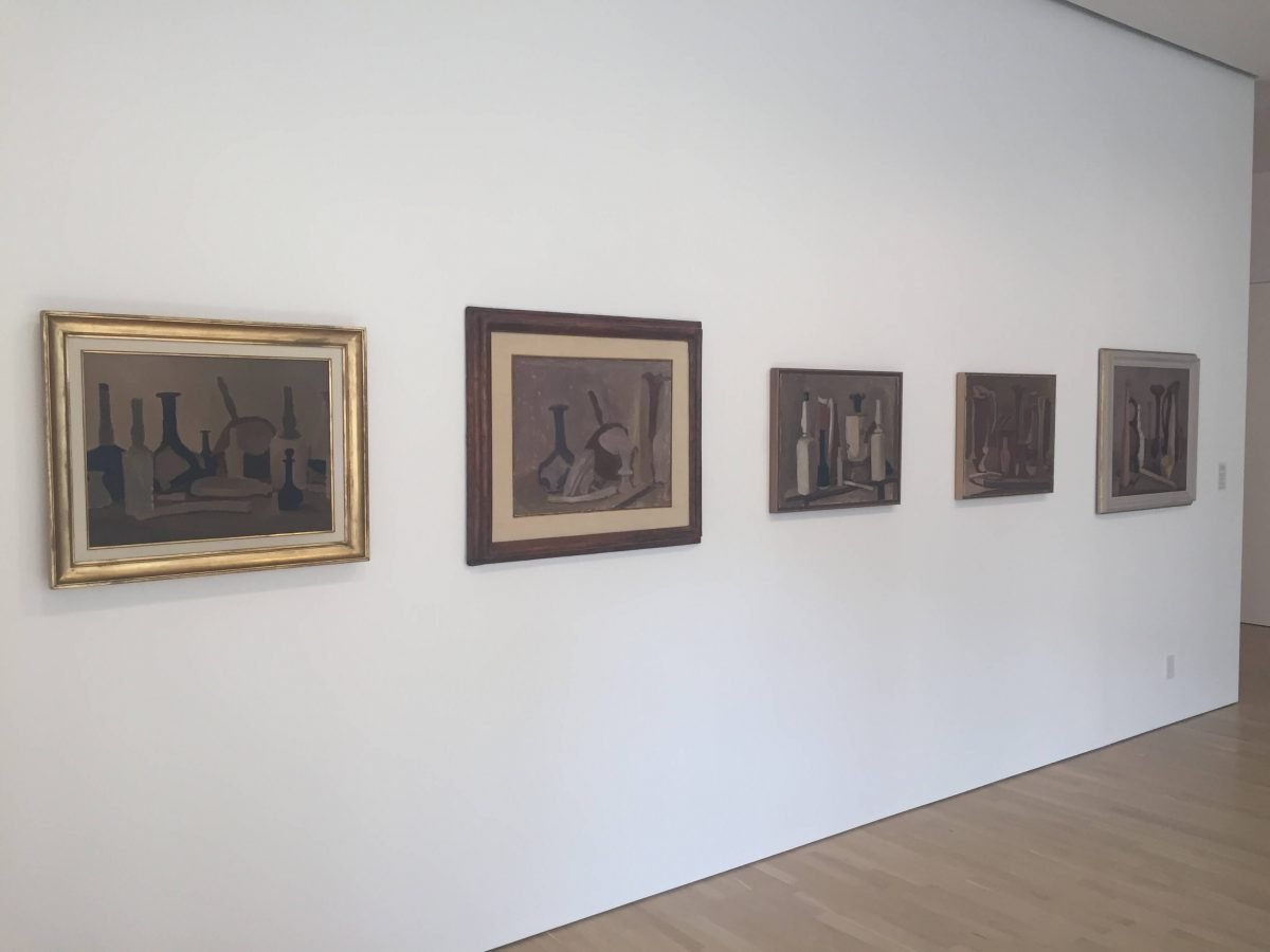 Culture & Music Giorgio Morandi Exhibition Paintings on Wall