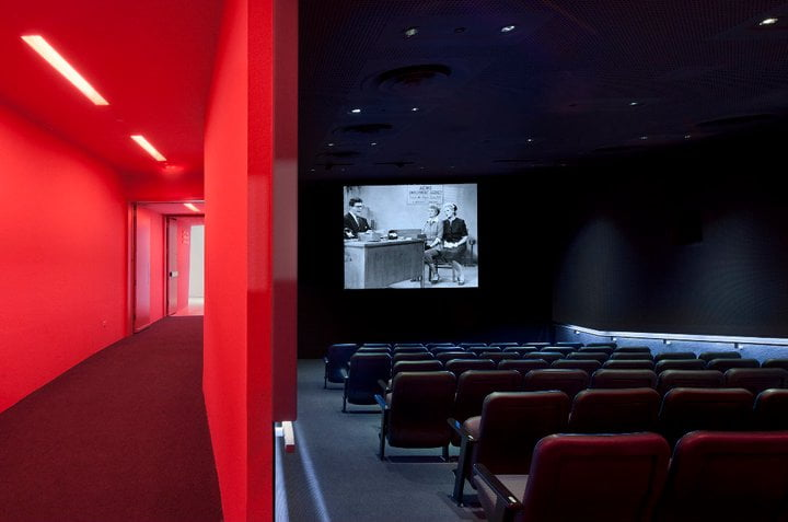 Culture Music Museum of the Moving Image by Peter Aaron:Esto Screening Room