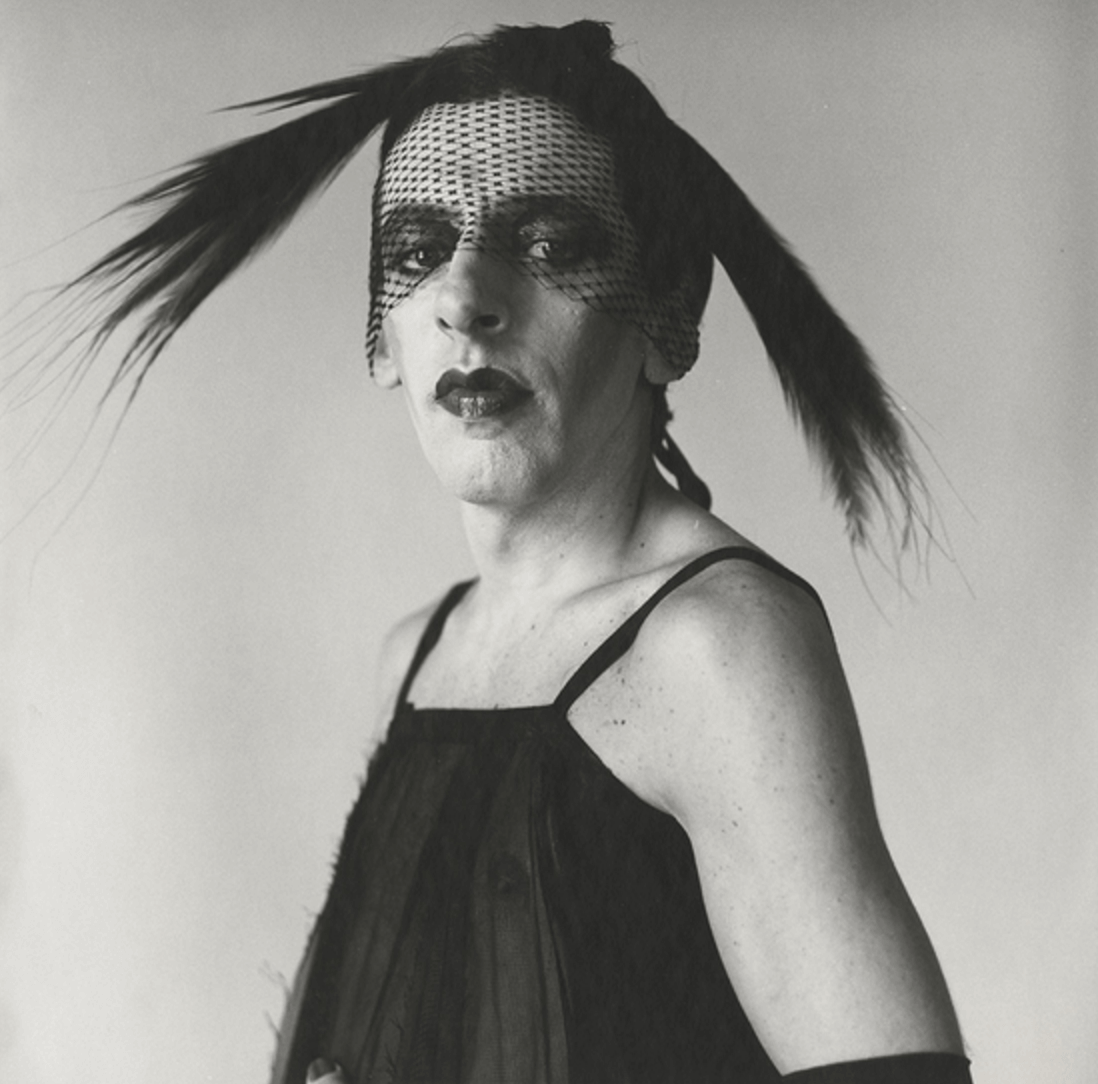 Culture Music Paul Kasmin Gallery Peter Hujar John Heys in Lana Turner Dress #1 1979