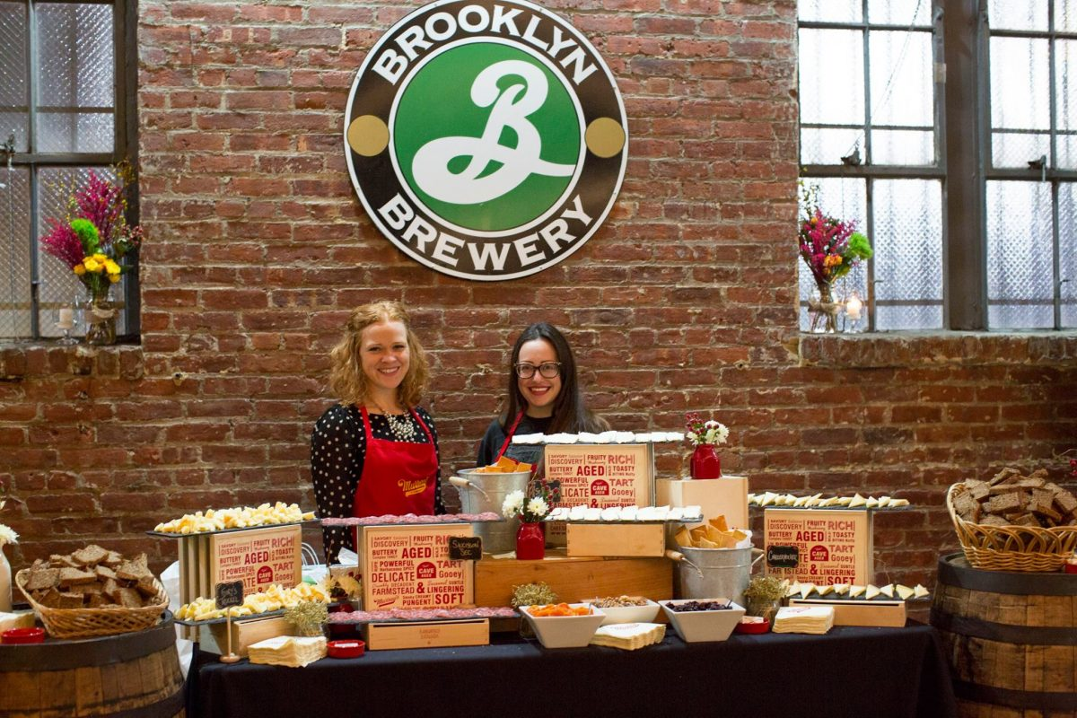 Dining Brooklyn Brewery Tasting Glamour Mag Girls