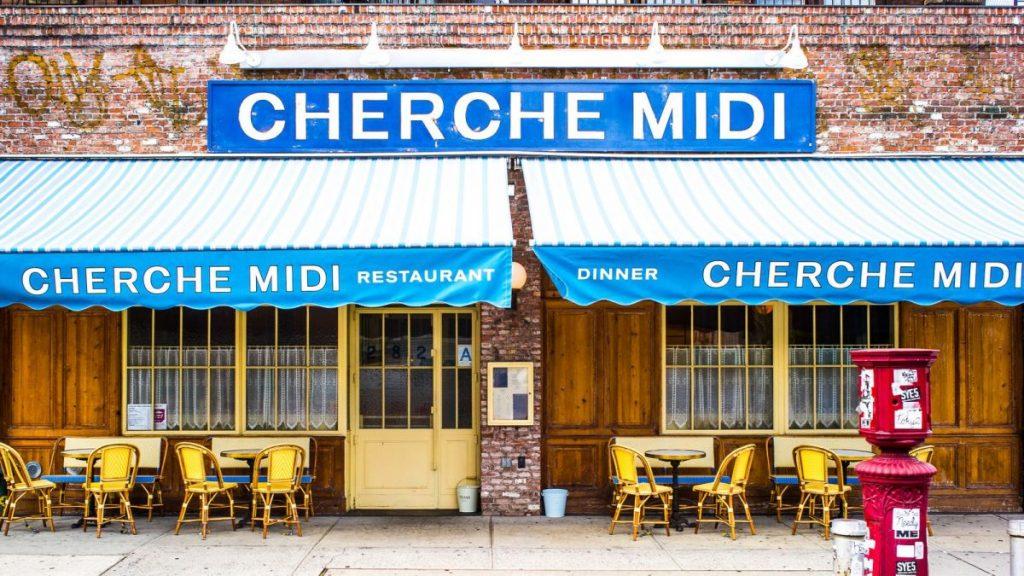 Dining Cherche Midi Restaurant Façade