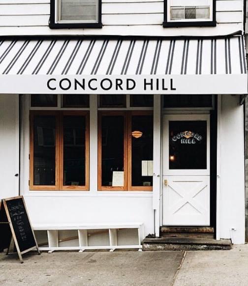 Dining Concord Hill Restaurant Façade