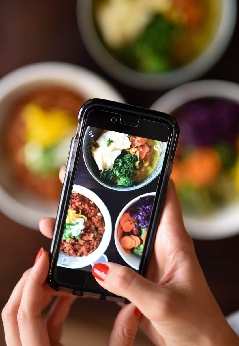 Dining Le Botaniste Restaurant Social Media Shot