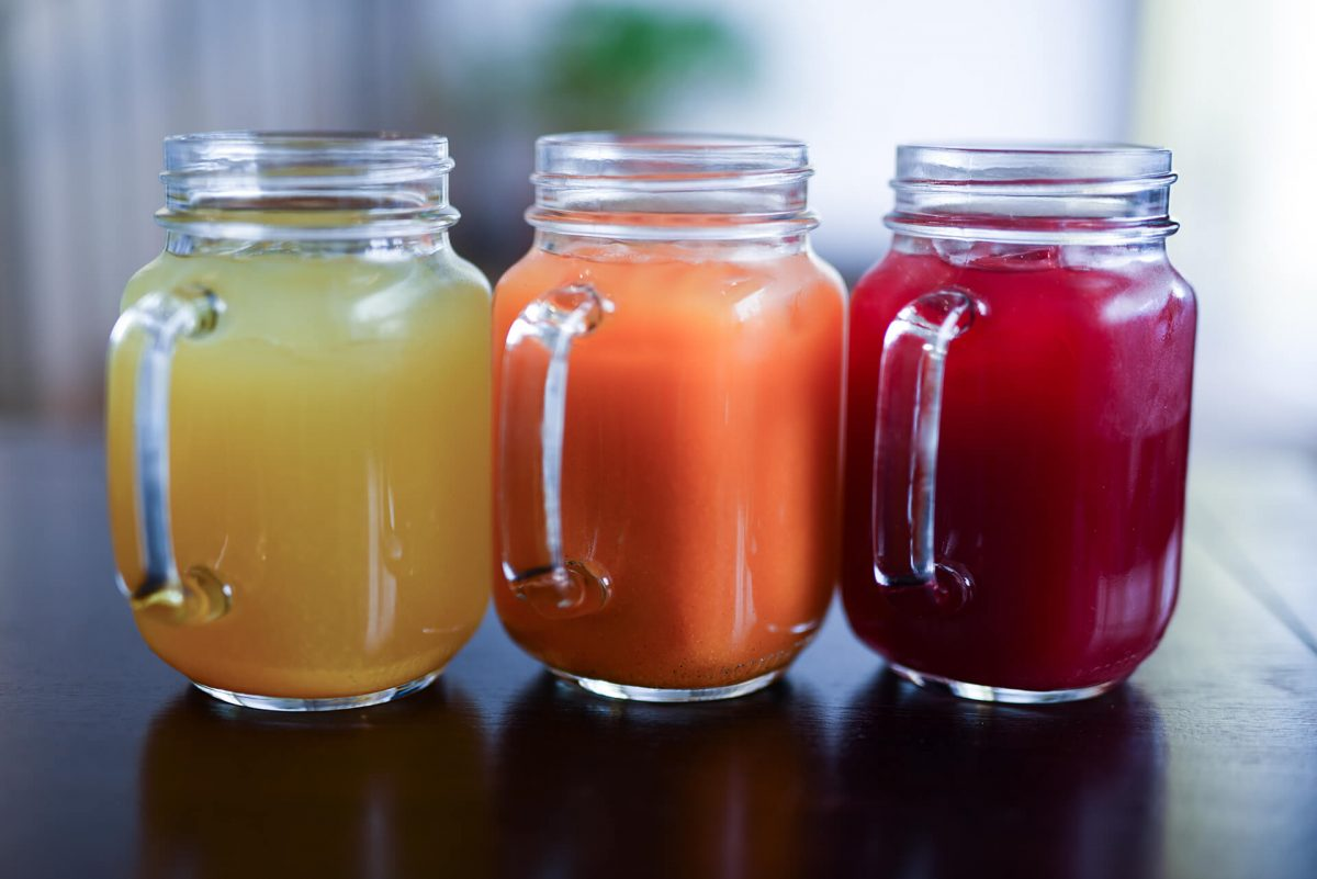 Dining Le Botaniste Restaurant Three Juices