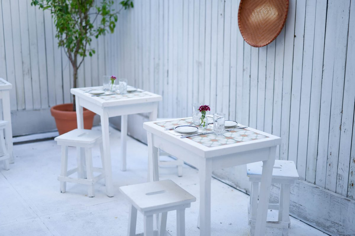 Dining Le Fanfare Restaurant Outdoor Tables