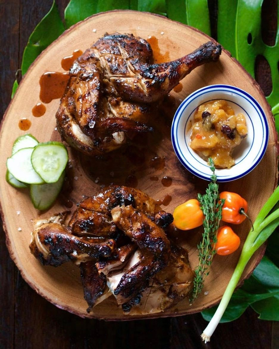 Dining Miss Lilys Restaurant Jerk Chicken