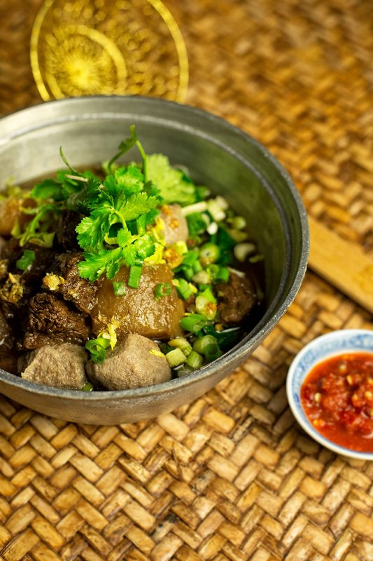 Dining Qi Thai Restaurant Stewed Beef Noodle