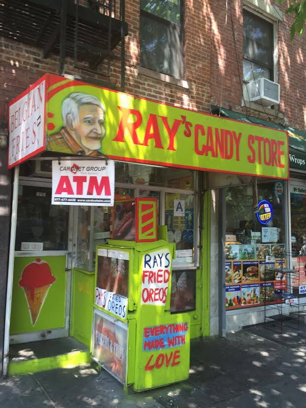 Dining Ray's Candy Store Front