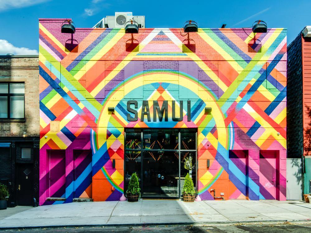 Dining Samui Brooklyn Restaurant Façade