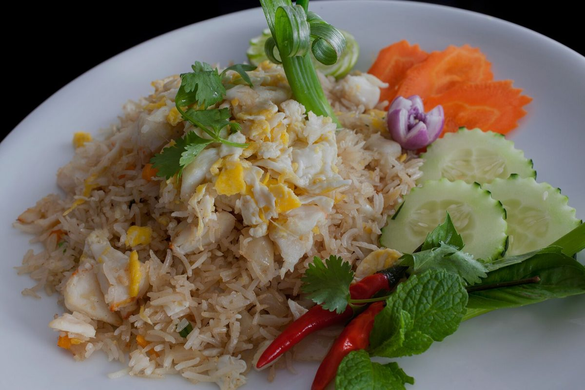 Dining Samui Brooklyn Restaurant Fried Rice