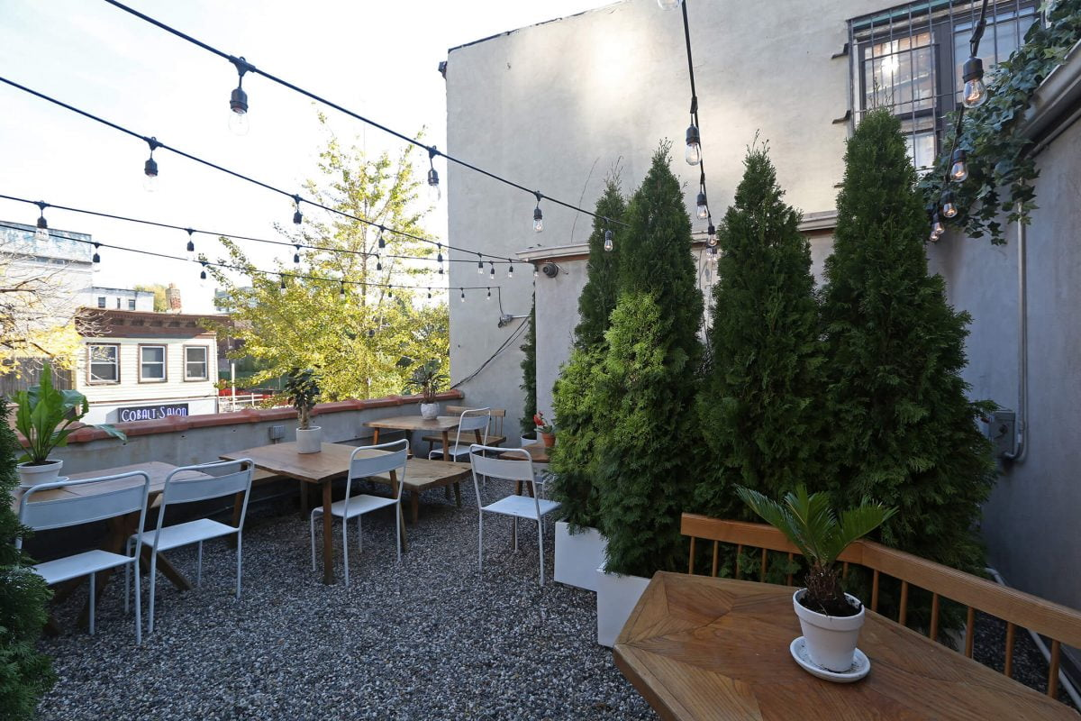 Dining Sunday in Brooklyn Restaurant Rooftop Garden