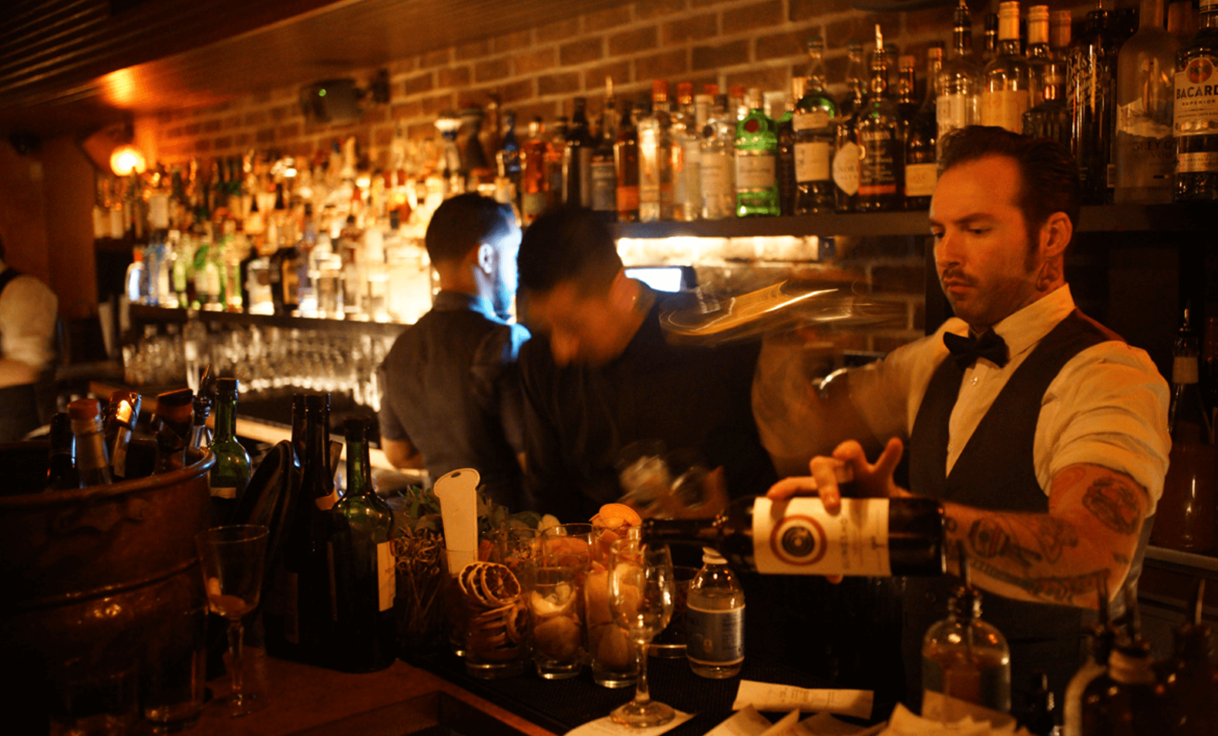Nightlife Bars Bathtub Gin Speakeasy Barmen