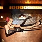 Nightlife Bars Bathtub Gin Speakeasy Girl in Bathtub