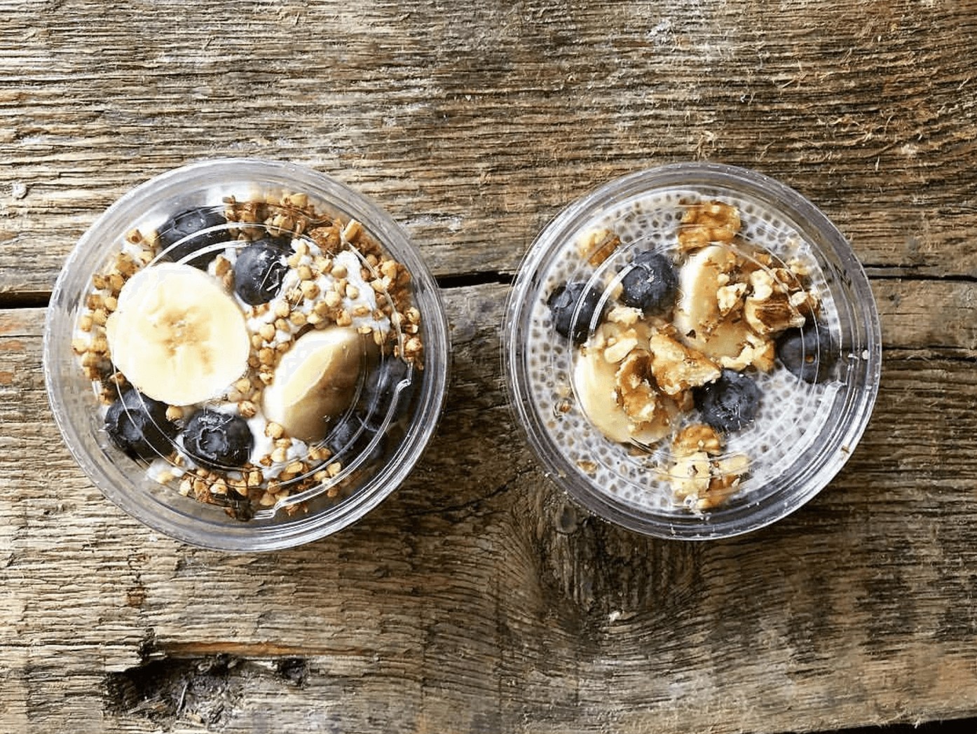 Dining 3 Vegan Restaurants Sun In Bloom Chia Pudding Granola