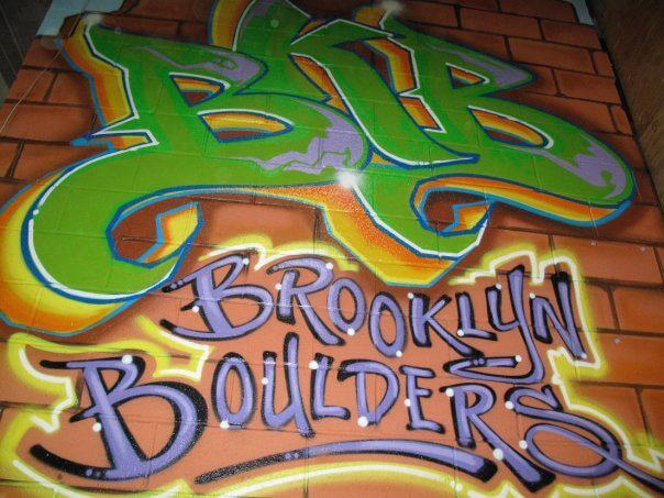 Fitness Health Brooklyn Bolder Graffiti