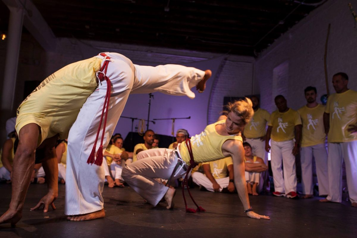 Fitness Health Capoeira Brooklyn During Class