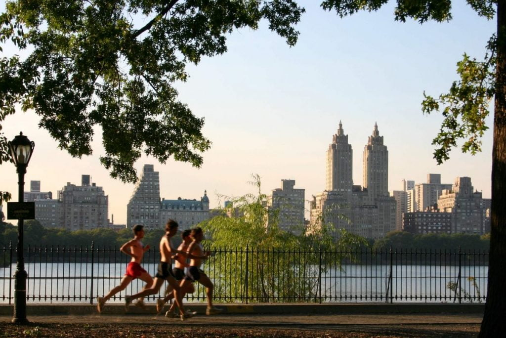 Fitness Health Central Park Track Club Jacqueline Kennedy Onassis Reservoir Team Running