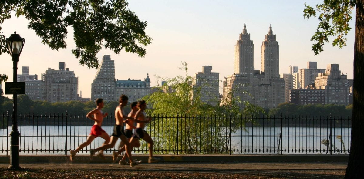 Fitness Health Central Park Track Club Jacqueline Kennedy Onassis Reservoir