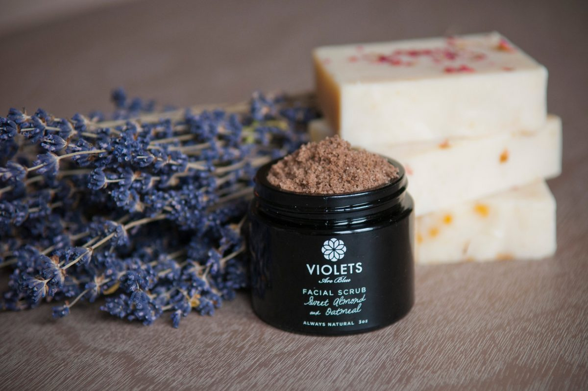 Fitness Health Indie Beauty Expo 2016 Violets are Blue Face Scrub