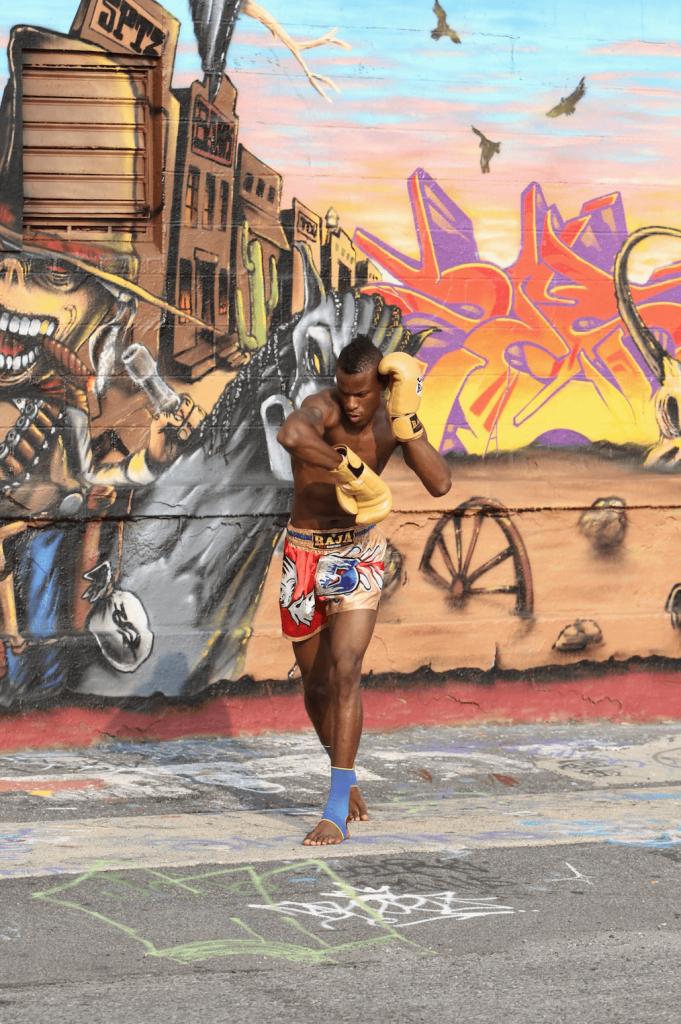 Fitness Health Renzo Gracie Fight Academy Graffiti Wall