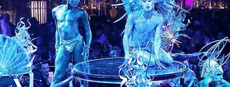 Nightlife Bars Queen of the Night Blue Costumes