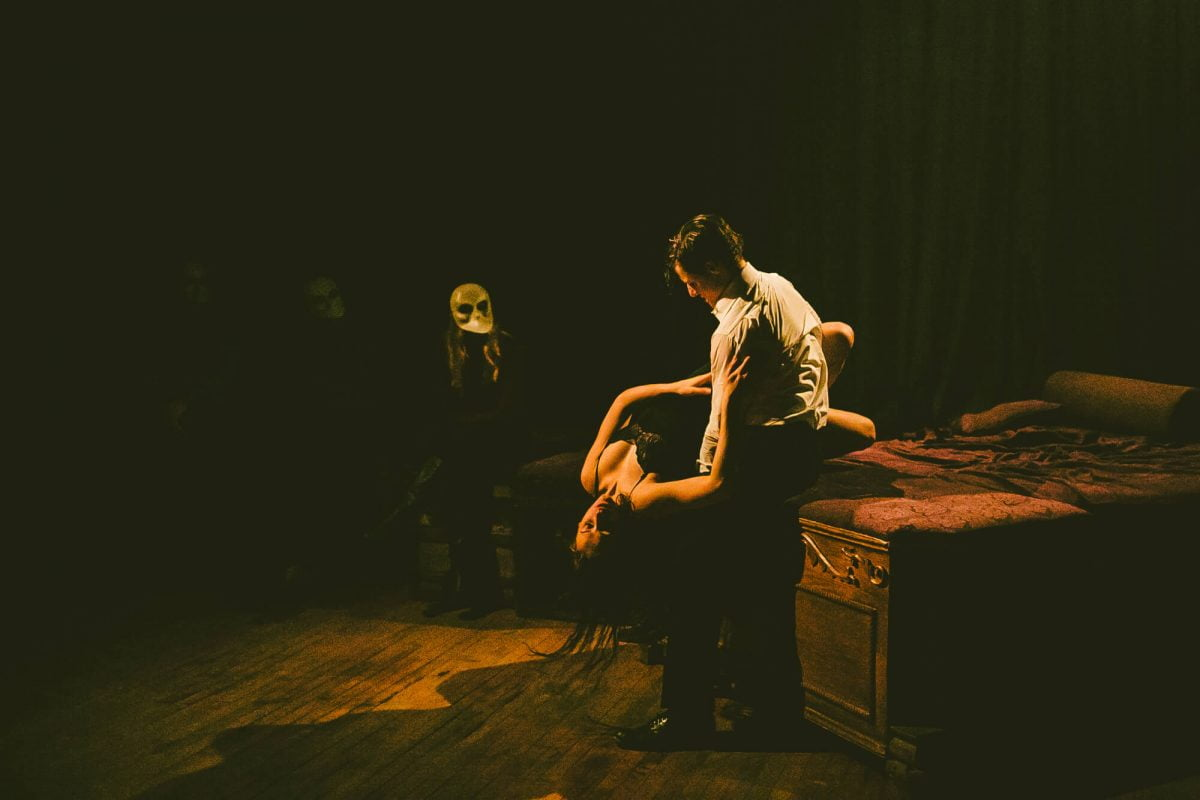 Nightlife Bars Sleep No More McKittrick Hotel Couple Performing DrielyS