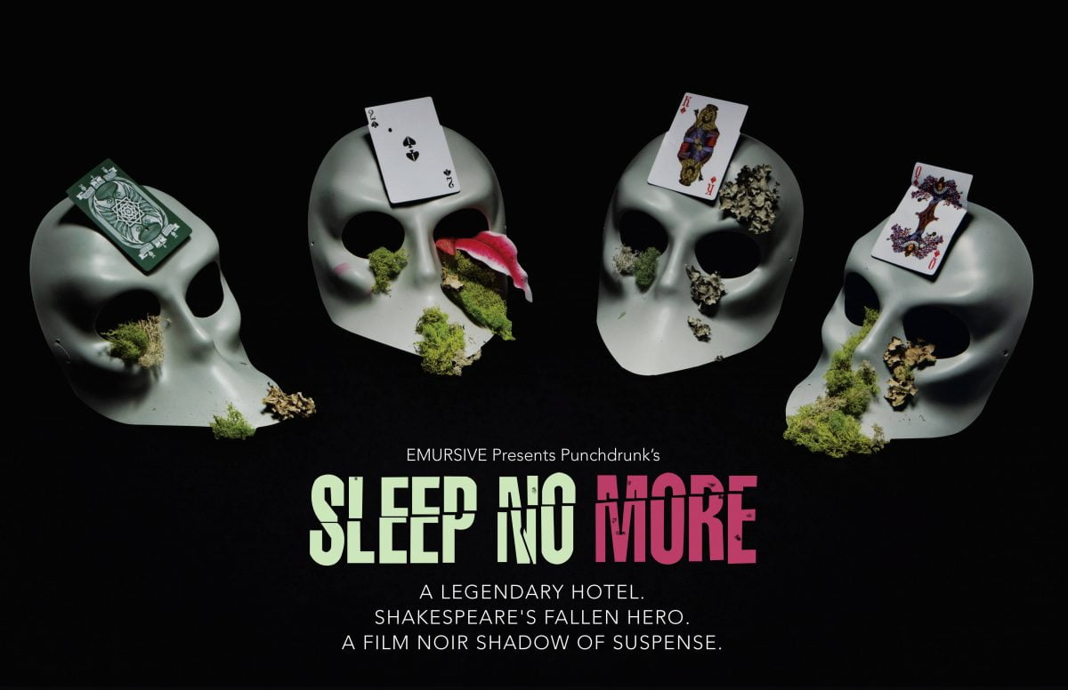 Nightlife Bars Sleep No More McKittrick Hotel Flyer