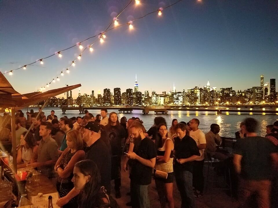 Nightlife Bars The Brooklyn Barge Night Guests