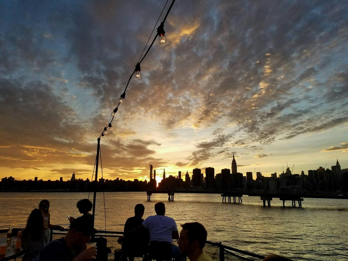 Nightlife Bars The Brooklyn Barge Sunset